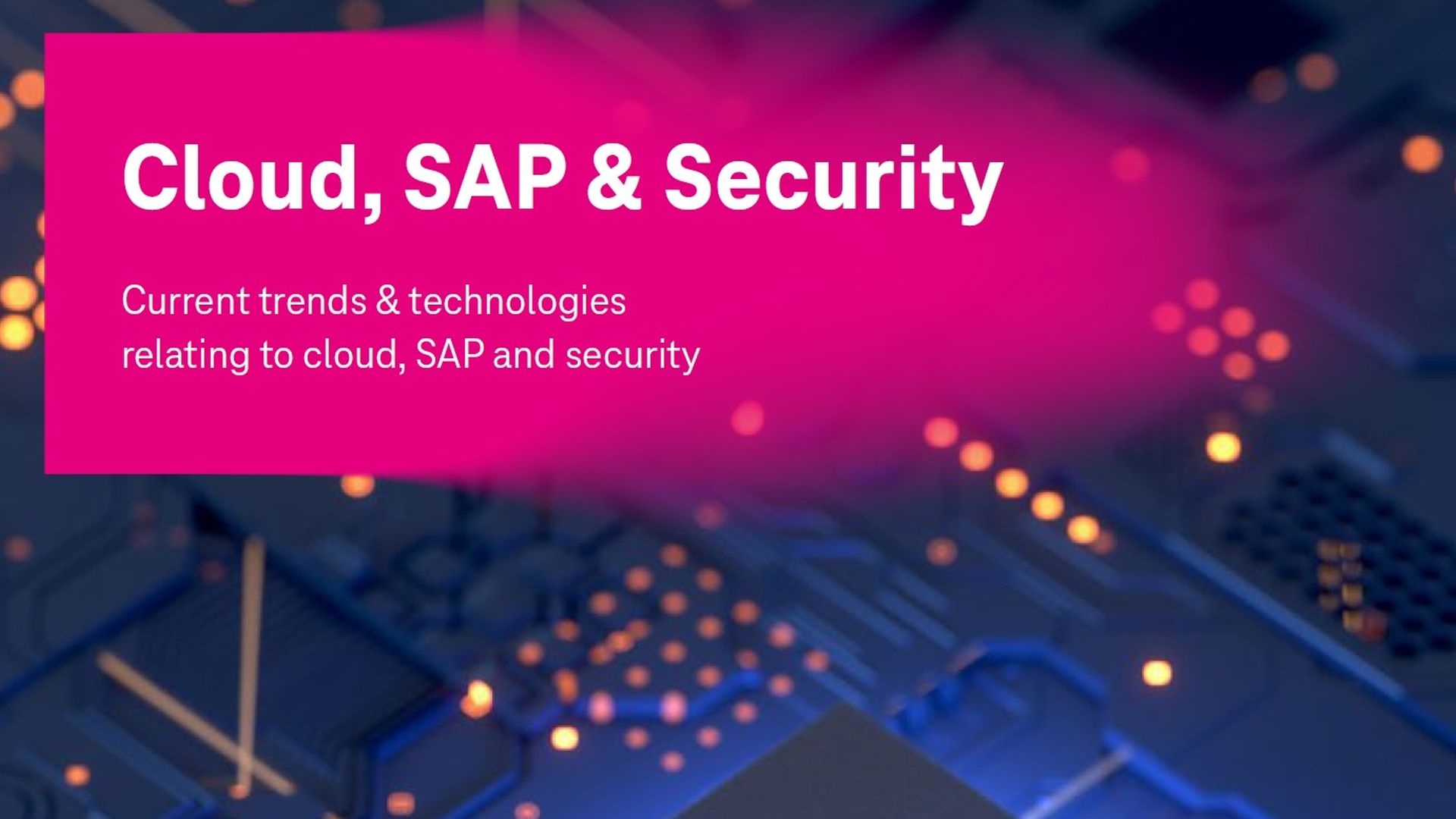 informe cloud, sap y seguridad t-systems