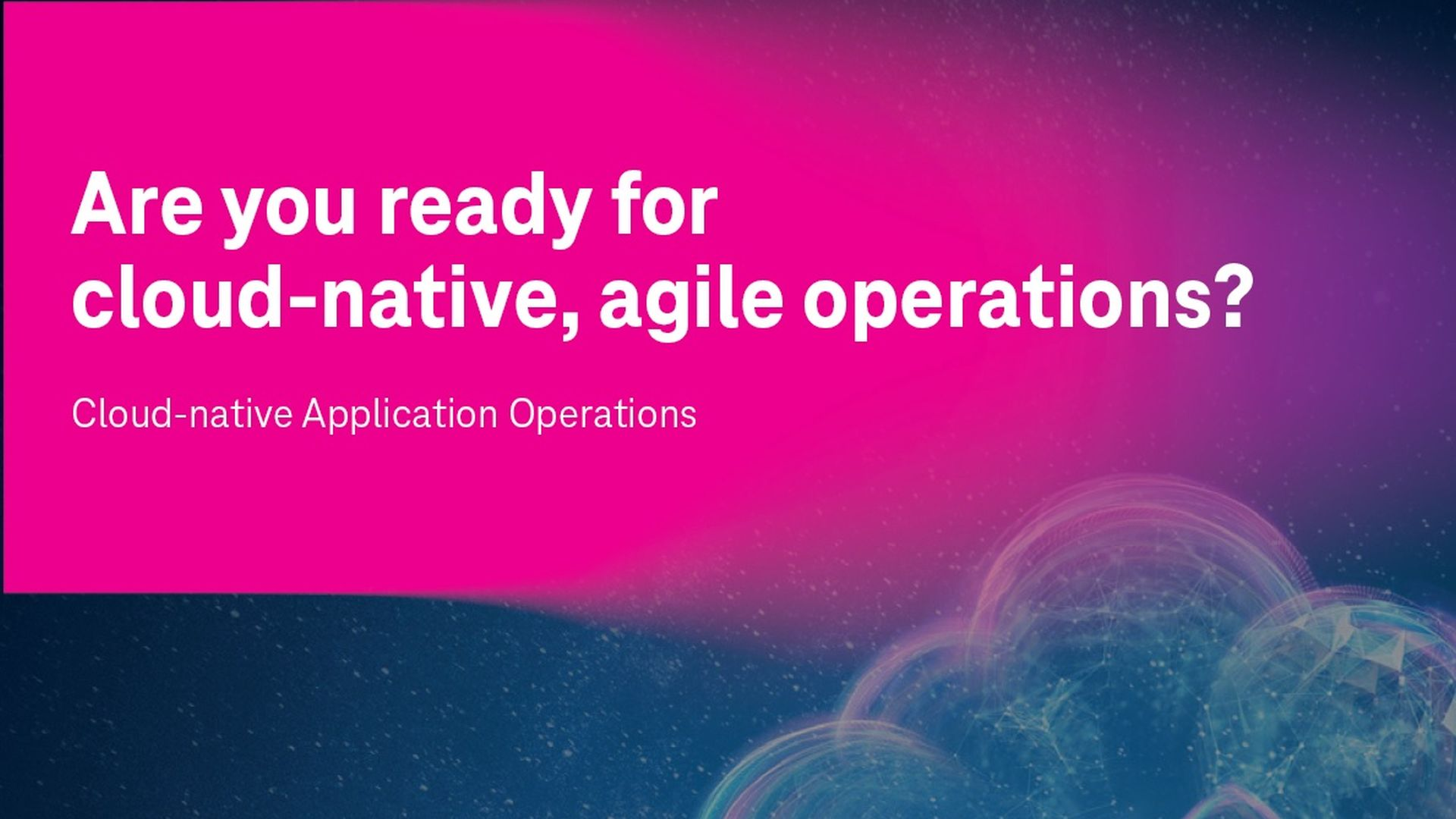 t-systems cloud operations
